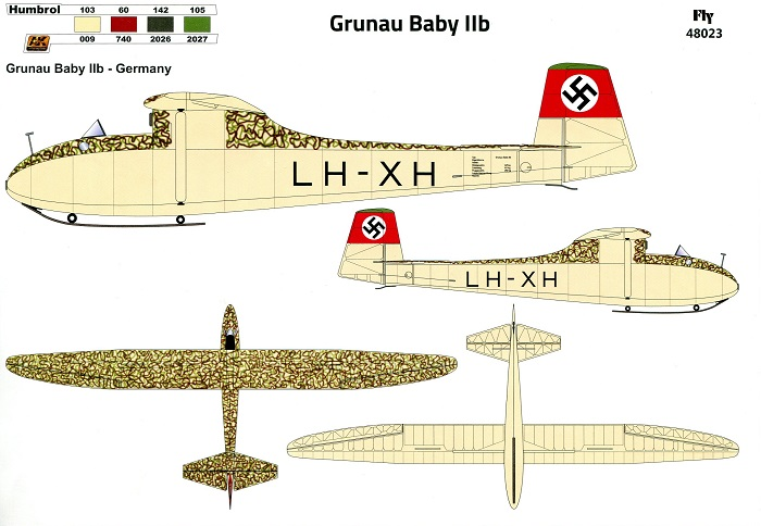 Grunau Baby IIb Germany 1