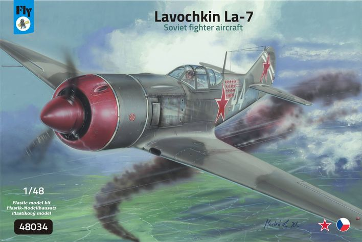 Lavochkin La-7 Soviet fighter