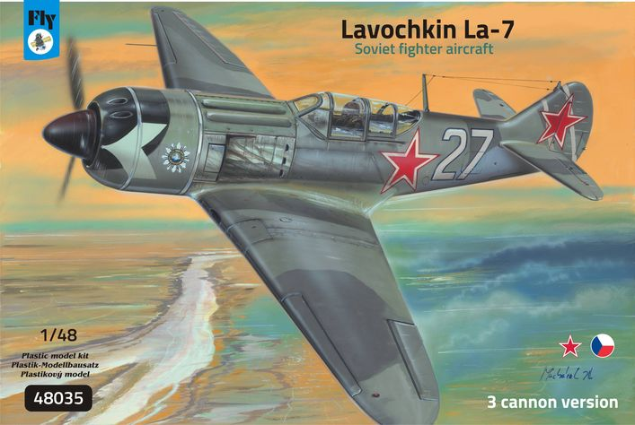 Lavochkin La-7 3 cannon version