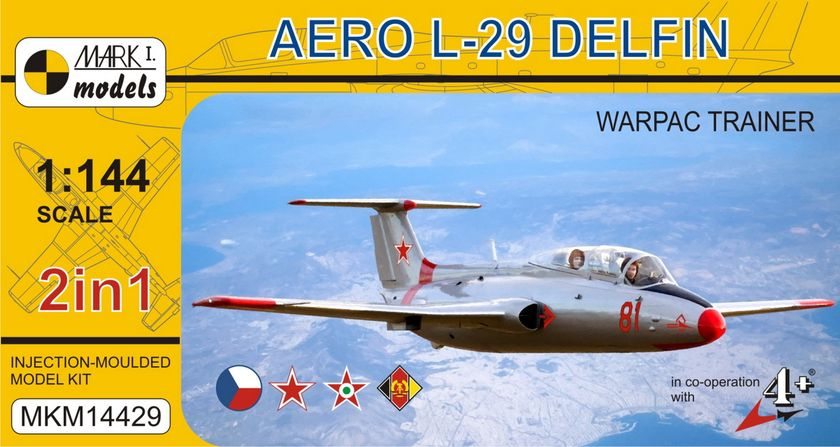 Aero L-29 Delphin Warshaw pact 2 in 1