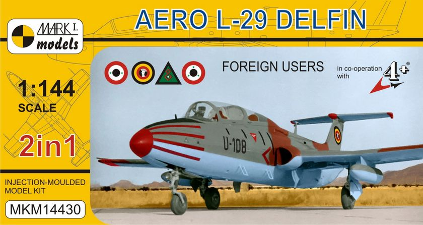 Aero L-29 Delphin Foreighn 2 in 1