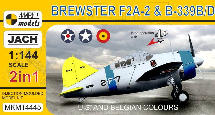 F2A-2 Buffalo/B-239 2 in USA & Belgium