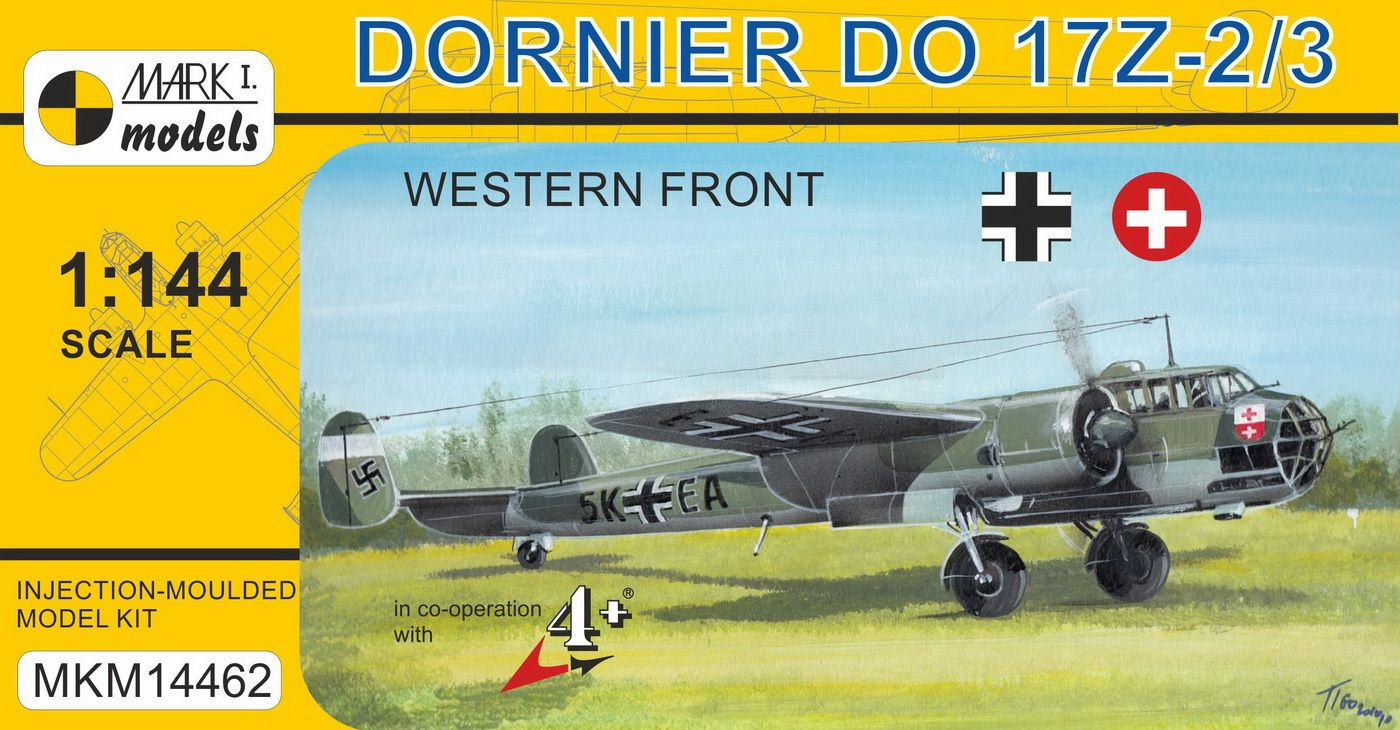 Do 17Z-2/3 'West front'