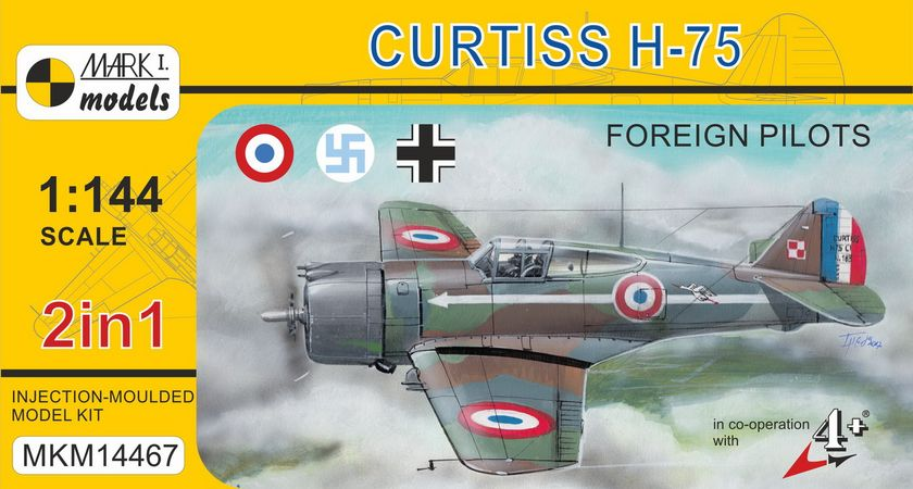 Curtiss H 75 Foreign fighter