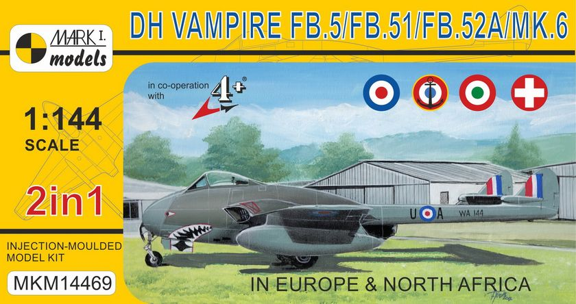 DH Vampire FB.5 Europe & North Africa 2 in 1