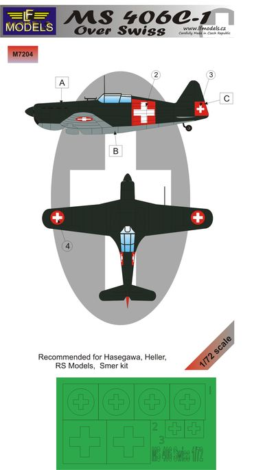 MS 406C-1 over Swiss
